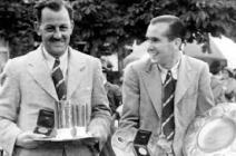 Tommy Thrisk & Arnold Bentley olympics 1936