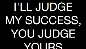 JUDGE YOUR SUCCESS 1
