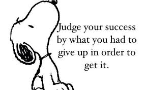 JUDGE YOUR SUCCESS